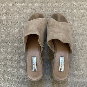 Halogen Shoes - Halogen Suede Frea Slide Sandal Mule